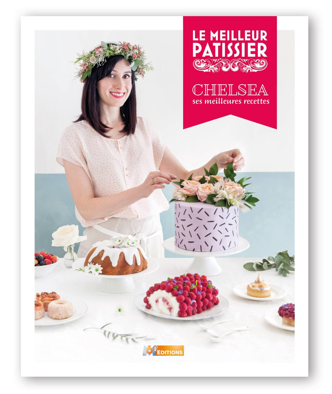 livre de chelsea le meilleur pâtissier