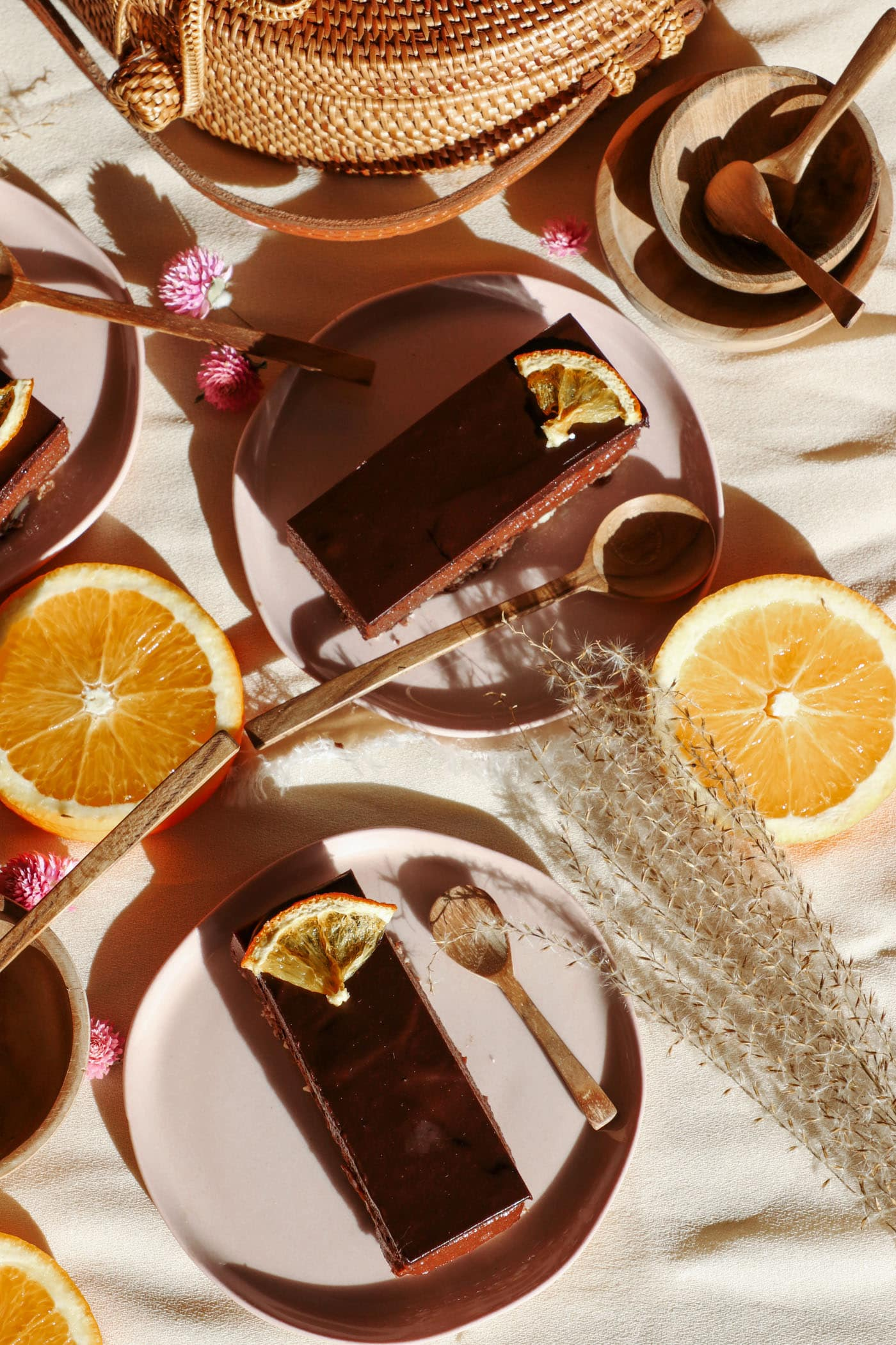 Raw, Vegan Chocolate Orange Slice