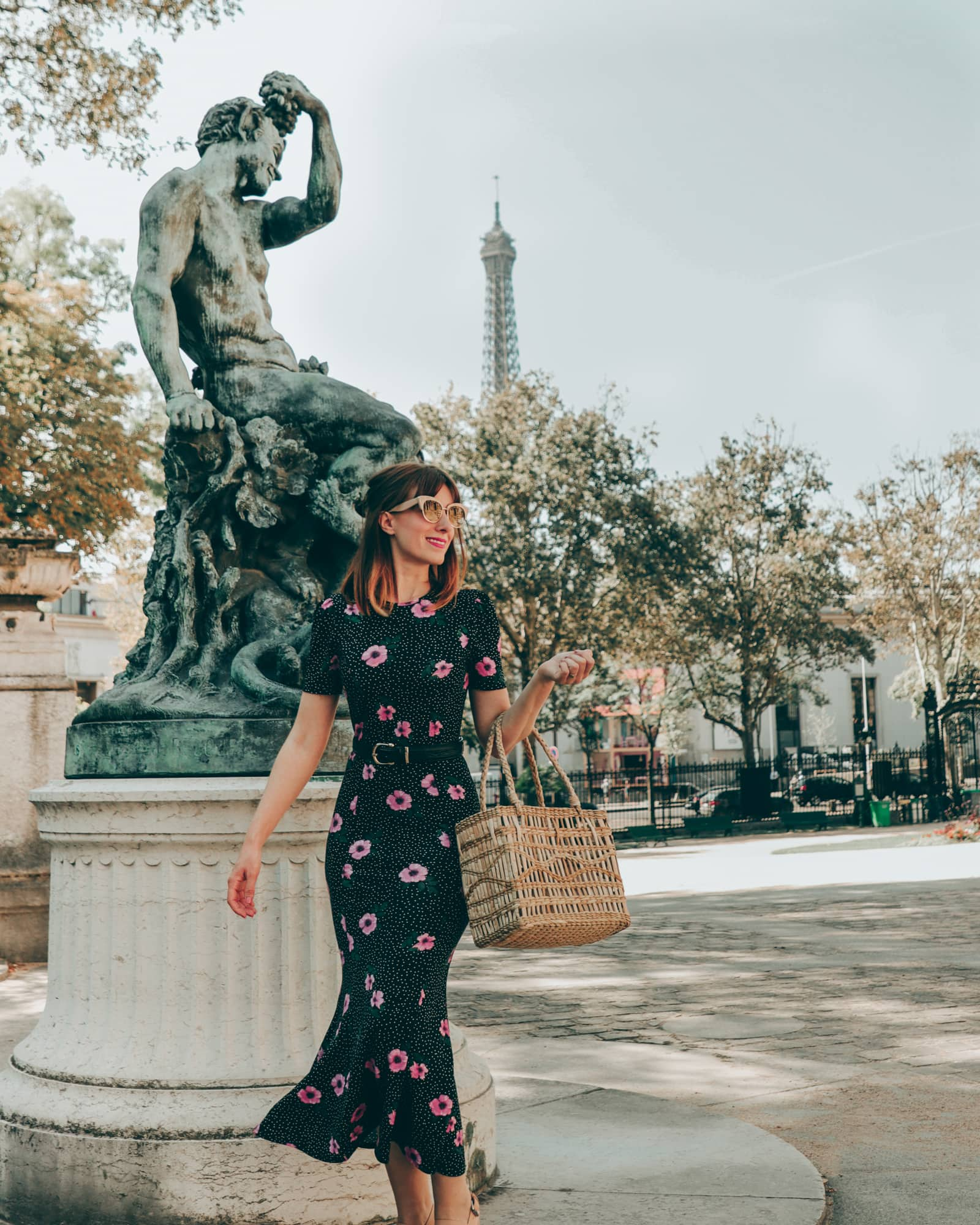 The perfect little black dress to wear in Paris